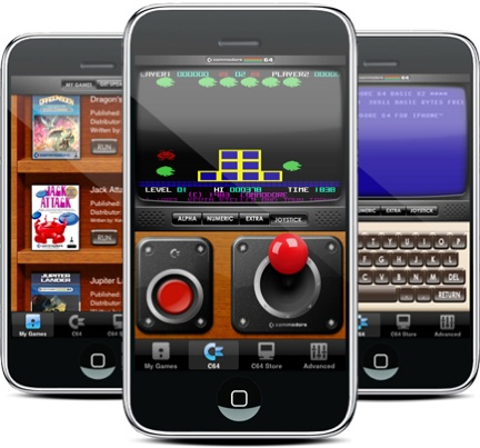 Emulatore C64 per iPhone