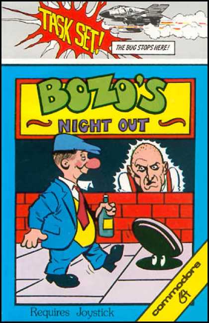 BOZO'S NIGHT OUT – Commodore 64 (1984)