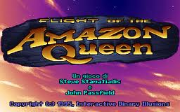 FLIGHT OF THE AMAZON QUEEN – Amiga / PC