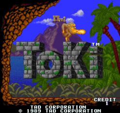 TOKI – Coin-Op (1989)