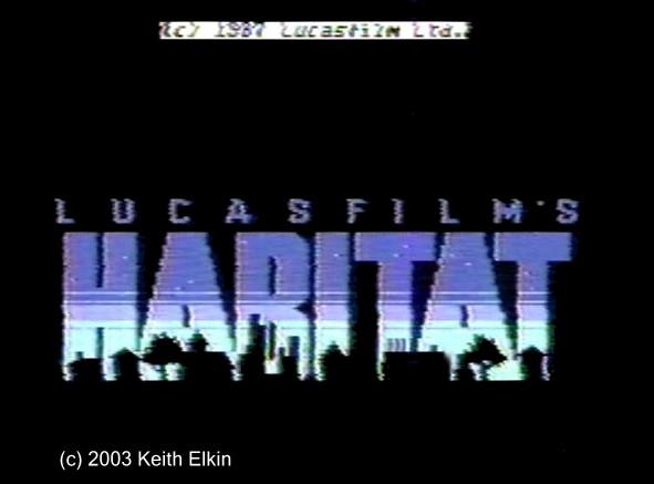 HABITAT – Commodore 64 (1986)