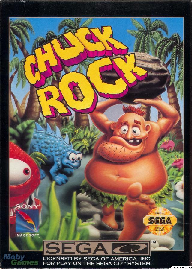 CHUCK ROCK – Amiga  (1991)