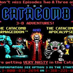 CATACOMB 3D – A NEW DIMENSION – PC (1991)