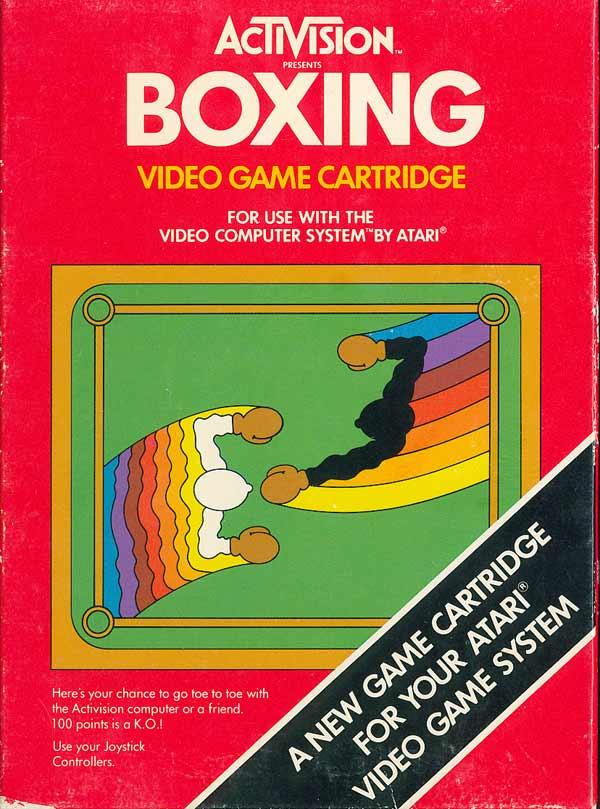 BOXING – Atari 2600 (1980)