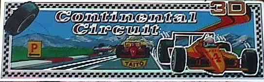 CONTINENTAL CIRCUS – Coin-Op (1987)