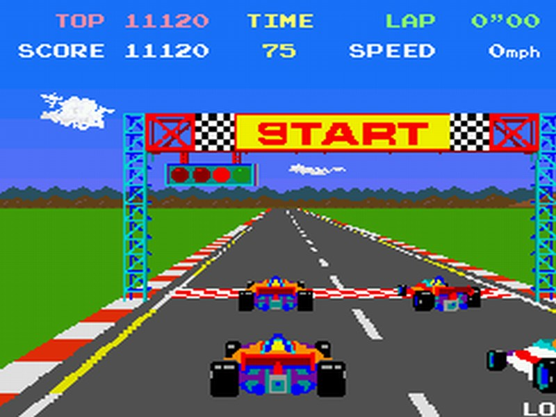 POLE POSITION – All versions (1982)
