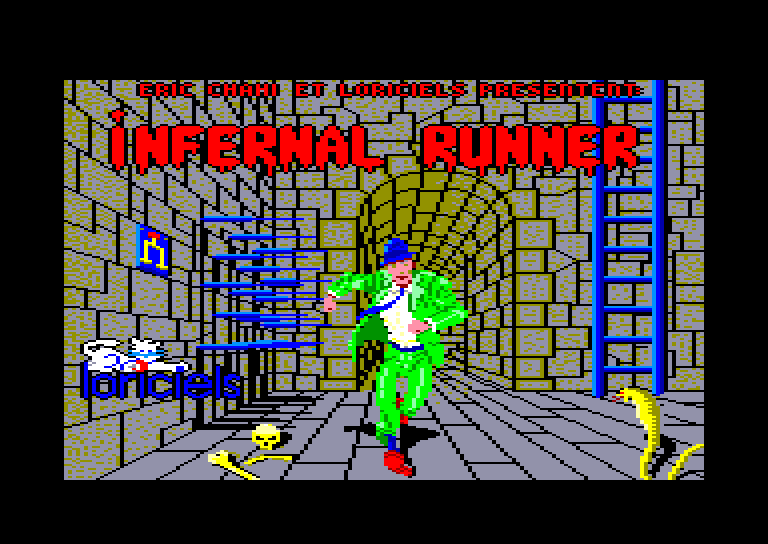 INFERNAL RUNNER – Commodore 64  (1985)