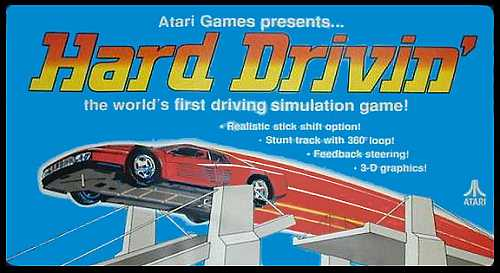 HARD DRIVIN' – All versions (1988)