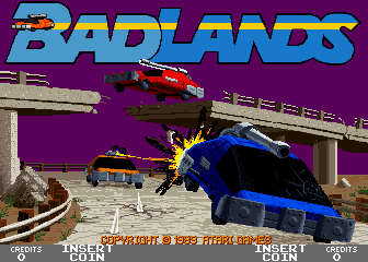 BAD LANDS – Coin-Op  (1989)