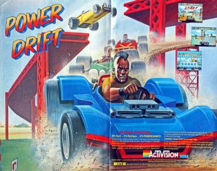 POWER DRIFT – Coin-Op (1988)