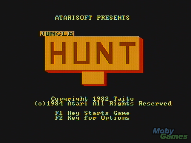 JUNGLE HUNT – Atari 2600 (1982)