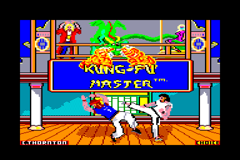 KUNG FU MASTER – Coin-Op (1984)