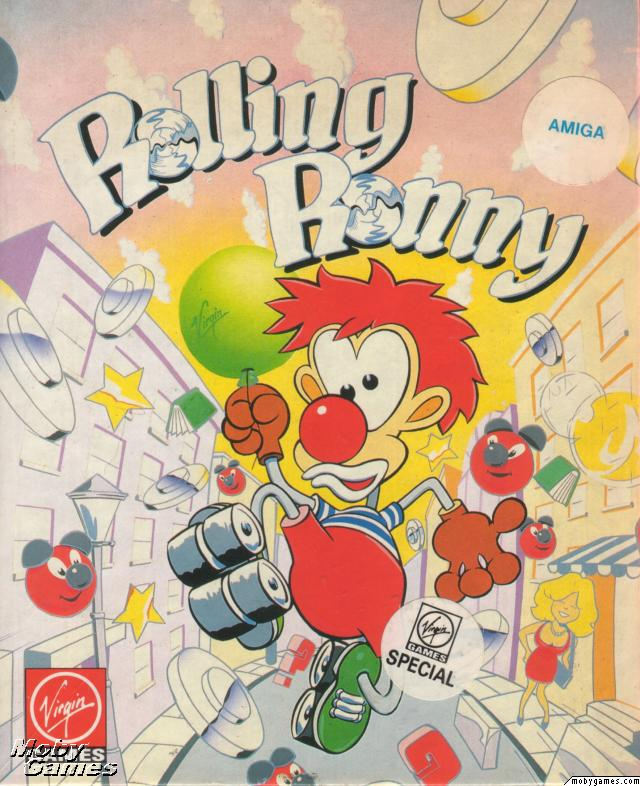 ROLLING RONNY – All versions (1991)