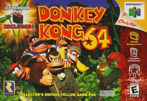 DONKEY KONG 64 – Nintendo 64 (1999)