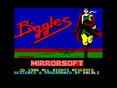 BIGGLES – Commodore 64 (1986)