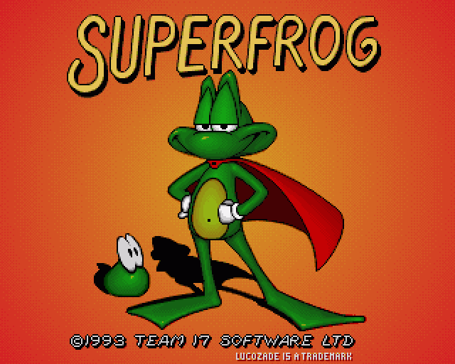 SUPERFROG – Amiga (1993)