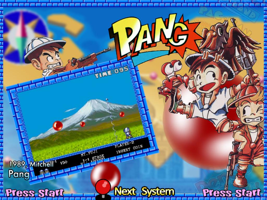 PANG – All versions (1989)