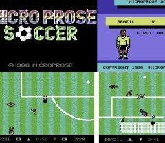 MICROPROSE SOCCER – Commodore 64 (1988)