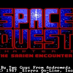 SPACE QUEST: THE SARIEN ENCOUNTER – PC (1986)