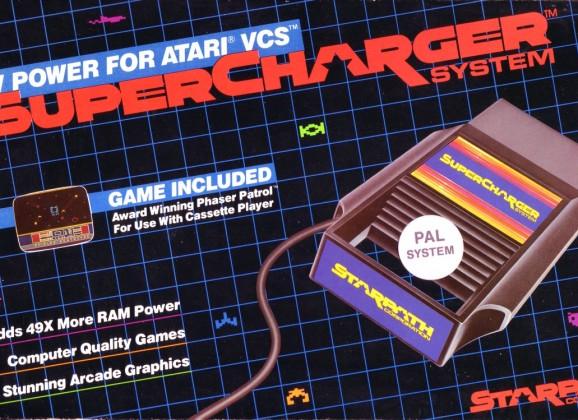 STARPATH SUPERCHARGER – Atari 2600 (1982)