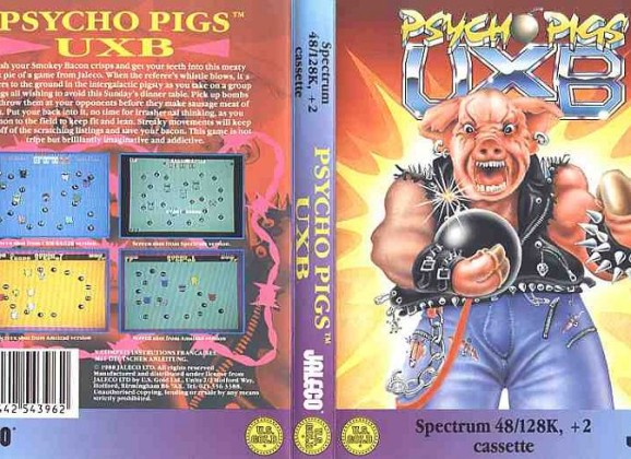 PSYCHO PIGS UXB – All versions (1988)