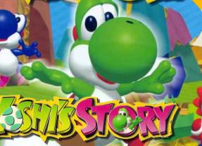 YOSHI'S STORY – Nintendo 64 (1997)