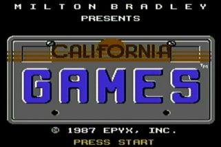 CALIFORNIA GAMES (1987) – Commodore 64