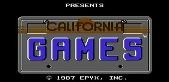 CALIFORNIA GAMES (1987) – Commodore 64