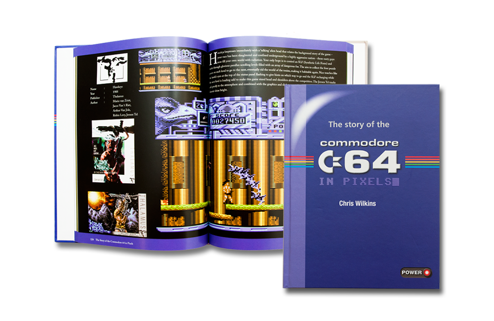 THE STORY OF C64 IN PIXELS – Chris Wilkins