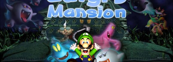 LUIGI'S MANSION – GameCube (2001)