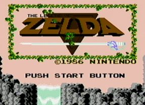 THE LEGEND OF ZELDA – Nes (1986)