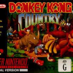 DONKEY KONG COUNTRY – Super Nintendo (1994)