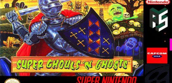 SUPER GHOULS 'N GHOSTS – Super Nintendo (1992)